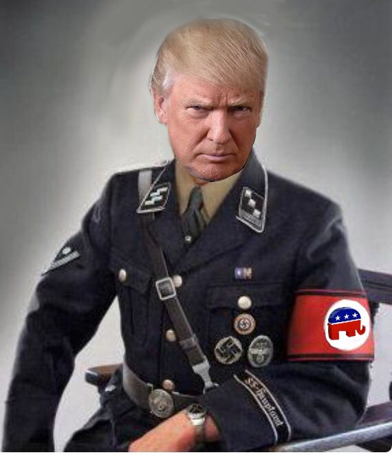 Donald Trump posts image of Nazi troops, remains most popular Republican…
