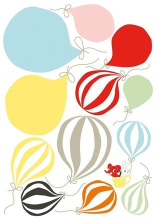 Littlephant Wallsticker Ballons