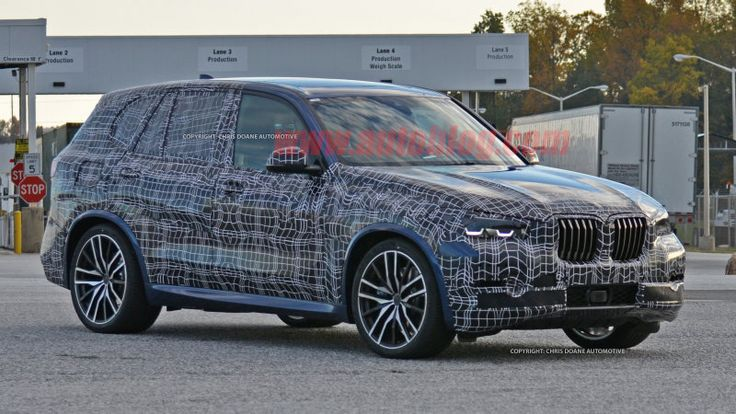 Next-gen BMW X5 spied in Spartanburg