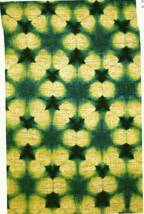 shibori - reminds me of my grandmother's obie, gift from son of the King of Siam, circa 1910 Judith Taylor Designs