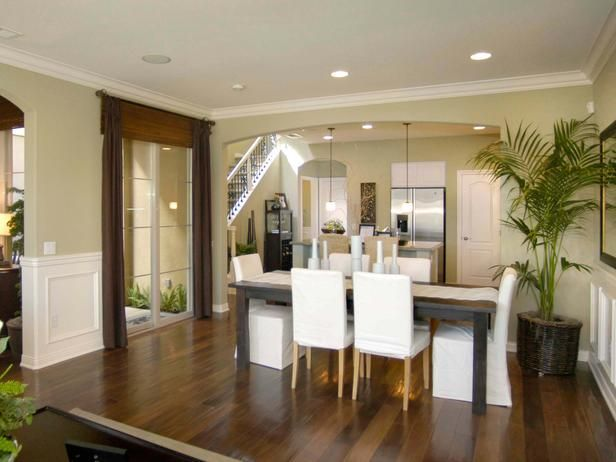 Dining Area With Wainscoting ~ Best neutral dining rooms ideas on pinterest formal