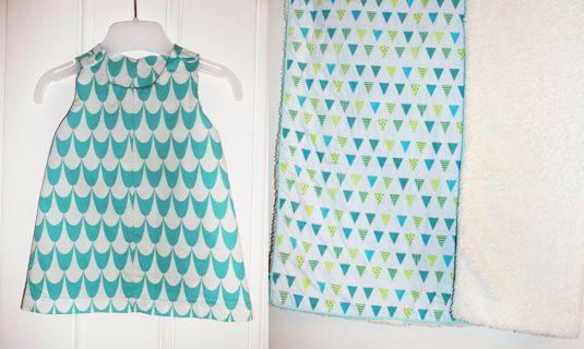 Mooie handgemaakte babydekentjes, kleedjes, mutsjes, ... door Veronkie