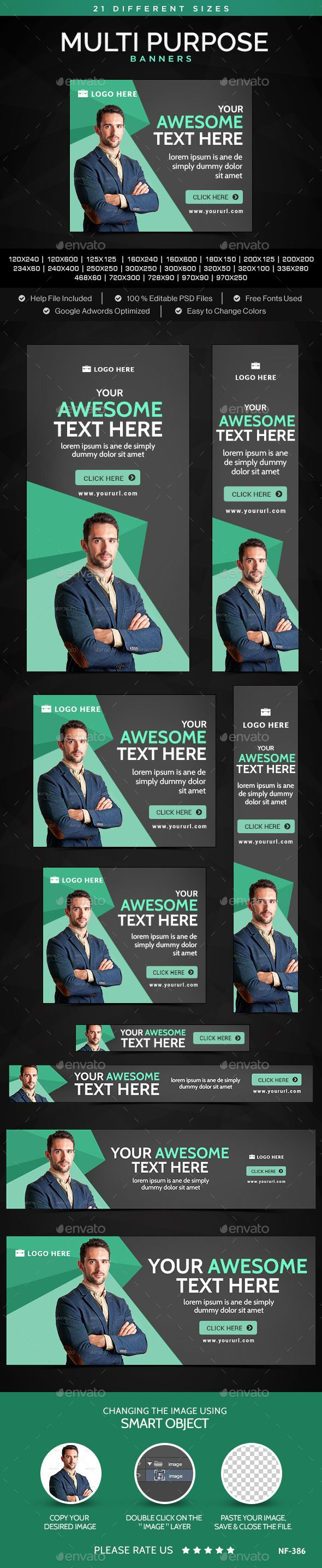Business Banners Template #design Download: http://graphicriver.net/item/business-banners/11449001?ref=ksioks
