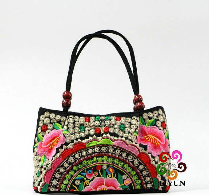 Aliexpress.com: Comprar 2015 de la lona étnica totalizador del diseñador de personajes bordado chino bolso de compras del bolso bolsos del hobo graffiti mujer XA310C de bolsa de peces fiable proveedores en Blue Birds Store