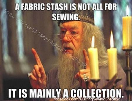 Magical Stash. I have a large collection that will not be made into quilts in my lifetime. But is enjoyed for it's beauty and possibilities!!
