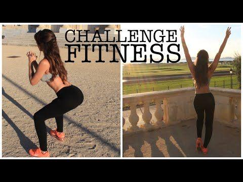 ▶ CHALLENGE FITNESS : Se sculpter des fesses bombées et des jambes fines! - YouTube