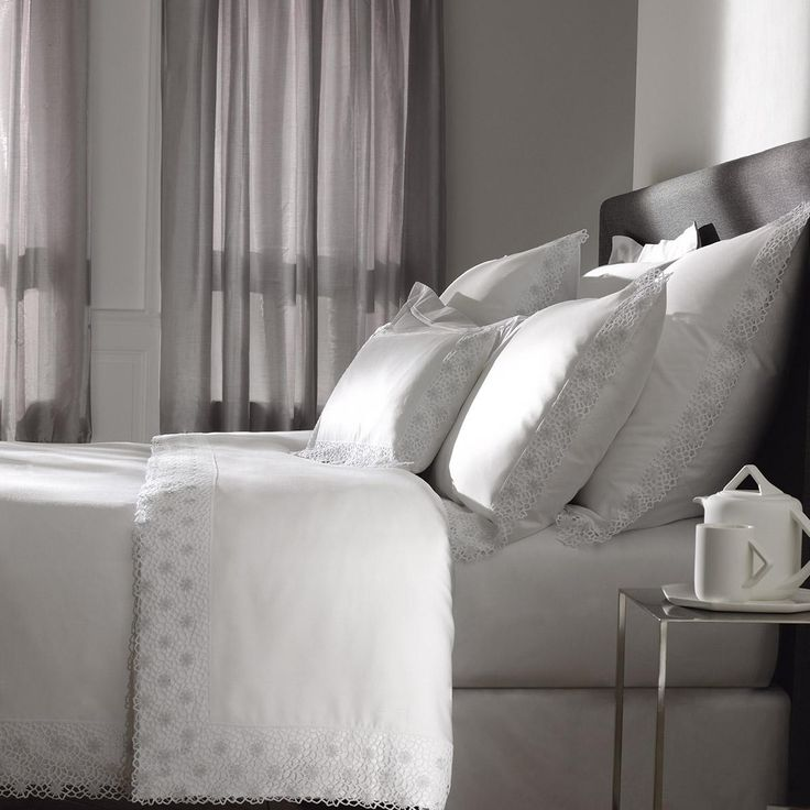 1000 images about l 39 art du lit par dumas on pinterest satin duvet cov - Linge de lit yves delorme ...