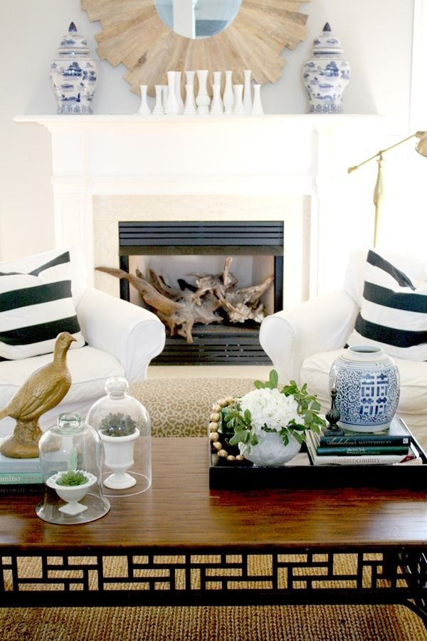 How to style the perfect coffee table: http://www.stylemepretty.com/living/2015/03/14/how-to-style-a-coffee-table/ | Photography: Emily A Clark - http://emilyaclark.com/