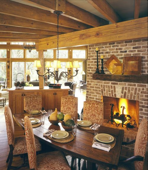 17 Best Images About Dining Room Fireplaces On Pinterest Beautiful Dining Rooms Modern