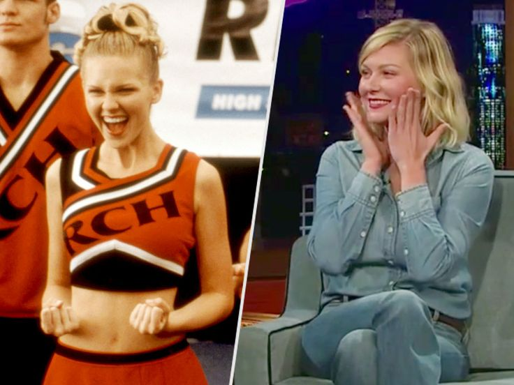 VIDEO: Watch Kirsten Dunst Break into a Bring It On Cheer on The Late Late Show with James Corden http://www.people.com/article/kirsten-dunst-bring-it-on-cheer-late-show-james-corden