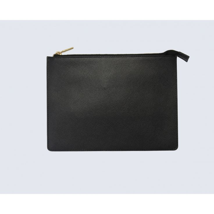 Small black leather pouch - Accessories