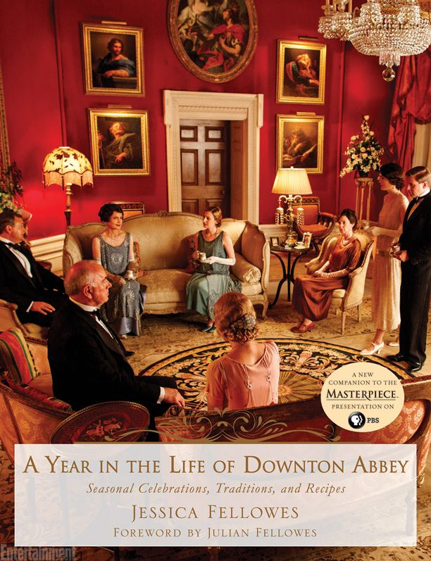 See the cover: 'A Year in the Life of Downton Abbey' | Shelf Life | EW.com