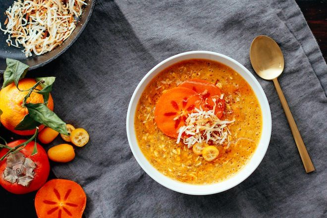 Turmeric Persimmon Porridge Nutrition Stripped