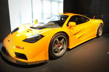 McLaren F1 Price: $1.1 million   It exceeds 200 miles per hour 7.6 seconds after idling at a stop sign.