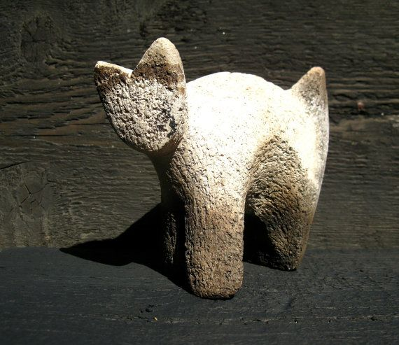 Grey Cat $31.00 USD by Mudrenko, based in Ukraine and selling on Etsy