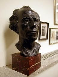 Rodin's bust of Mahler