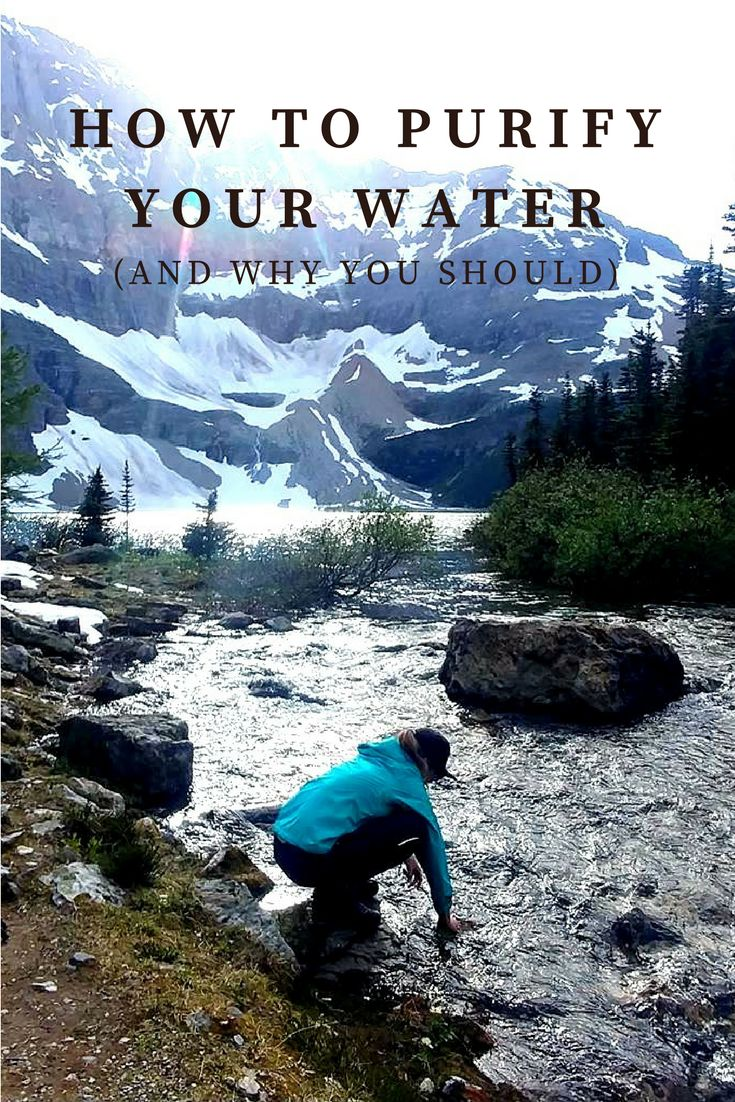 3 days without water is how long you'll last... so here's 3 ways to purify!