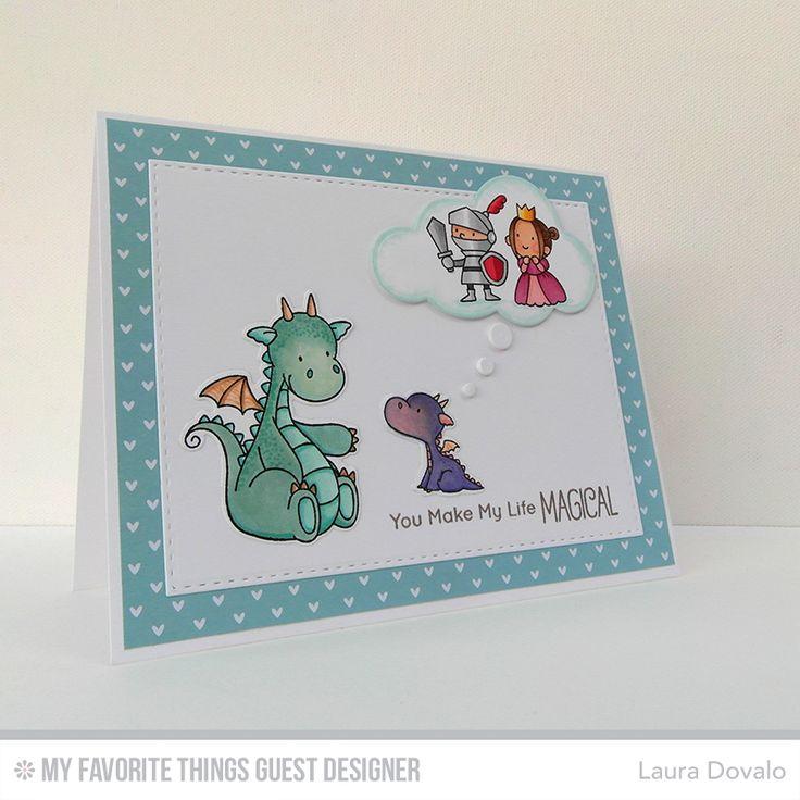 Bagatelas de papel: ¡Diseñadora invitada en My Favorite Things! - Guest designer at My Favorite Things!