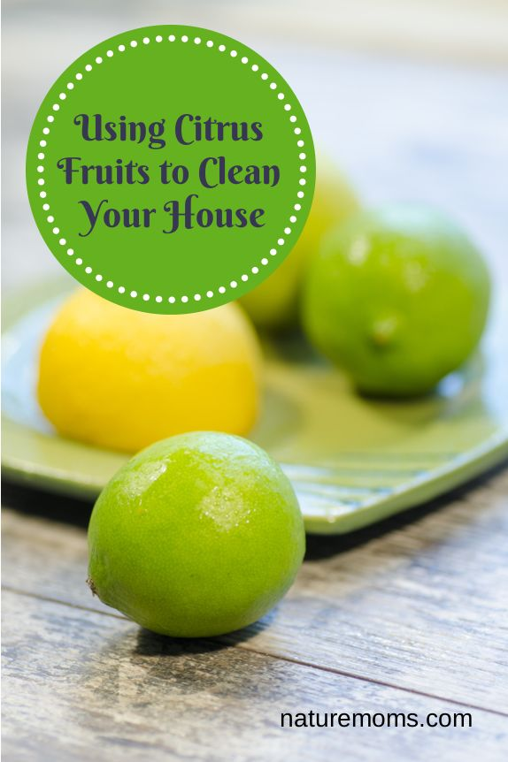 Using Citrus Fruits to Clean Your House