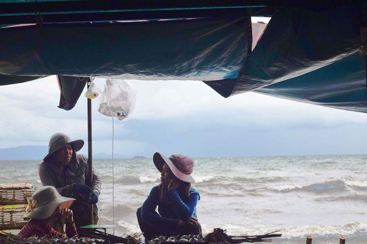 Crab market  #Cambodia #kampot #trip #Asia #カンボジア #カンポット #アジア #海 #海外旅行