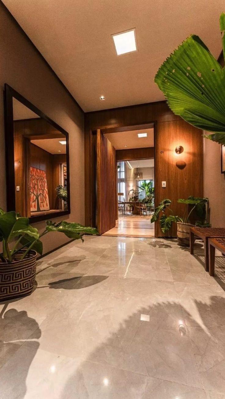 Home Room Design, Dream Home Design, Modern House Design, Home Interior Design, Interior Architecture, Chinese Architecture, Futuristic Architecture, Modern Houses, Home Entrance Decor