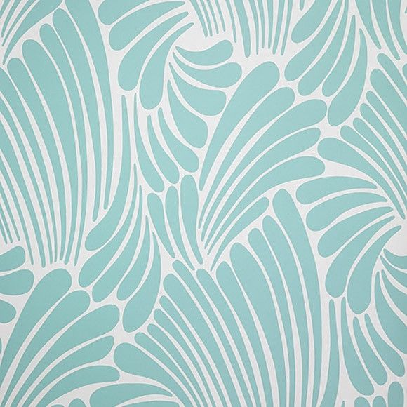 Wallpaper - Florence Broadhurst Blue Fingers | Collected by LeeAnn Yare