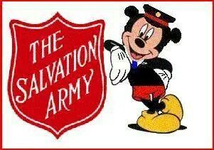 Mickey loves the Army.