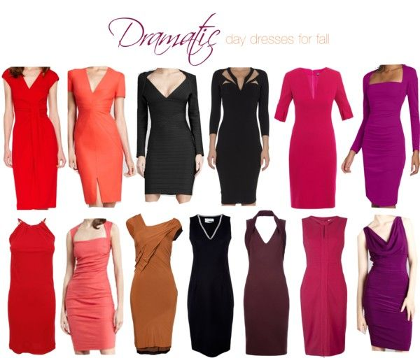 """""""Dramatic day dresses for fall"""" by theluxejunkie ❤ liked on Polyvore"""