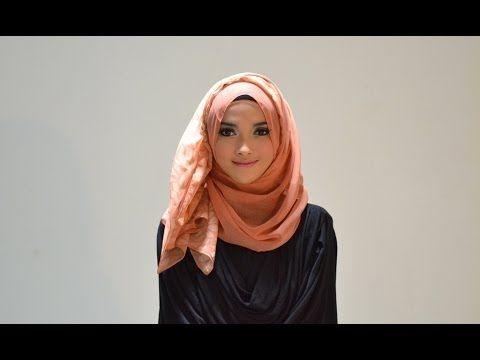 [Adlina Anis] Hijab Tutorial 9 | The Easy2Pin - YouTube