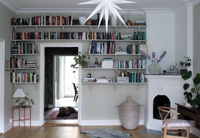 Våra bokhyllor