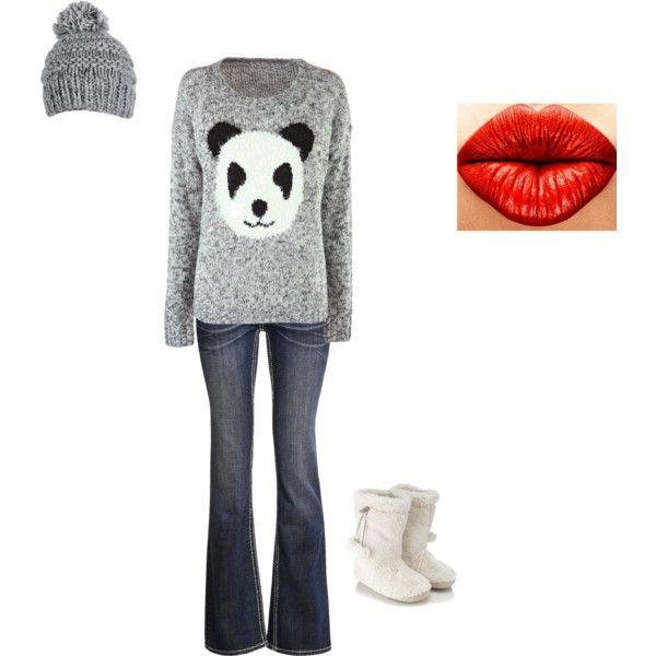 """Panda Outfit"""