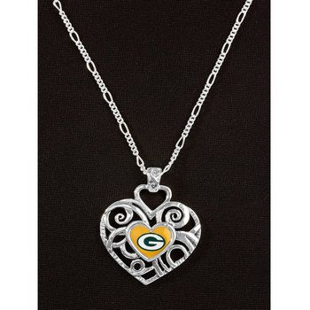 Green Bay Packers Grace Ivy Pendant Necklace at the Packers Pro Shop http://www.packersproshop.com/sku/2211395042/