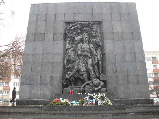 Jewish Ghetto Memorial - Warsaw, Poland