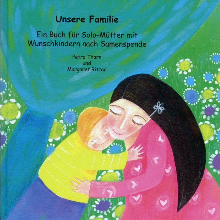 Unsere Familie - cover illustration by Tiziana Rinaldi