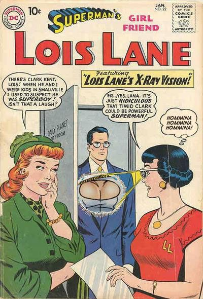 "From ""Superman's Girlfriend: Lois Lane"", number 22"