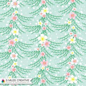 """Cherry Blossom"" surface pattern design by Robyn Bockmann COPYRIGHT 2014."