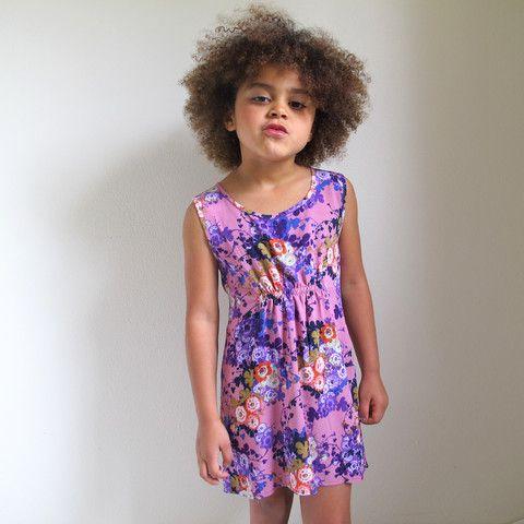 little girls heaven - Tank Dress - floral - TD2