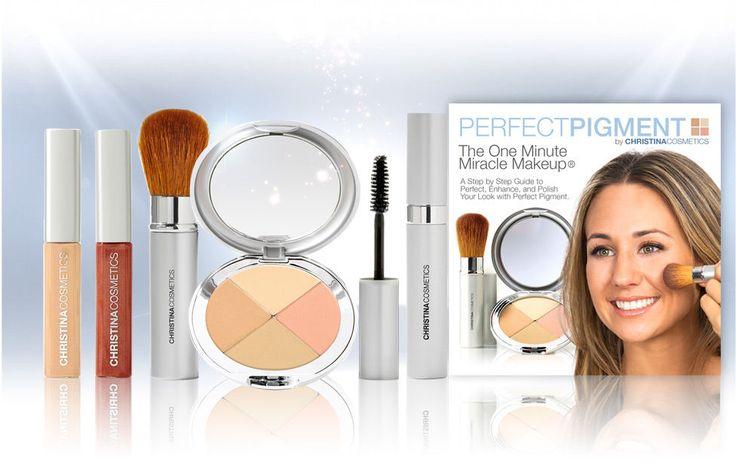 Christina Cosmetics Perfect Pigment Mineral Makeup Shade  #1 - FULL SIZE KIT #ChristinaCosmetics