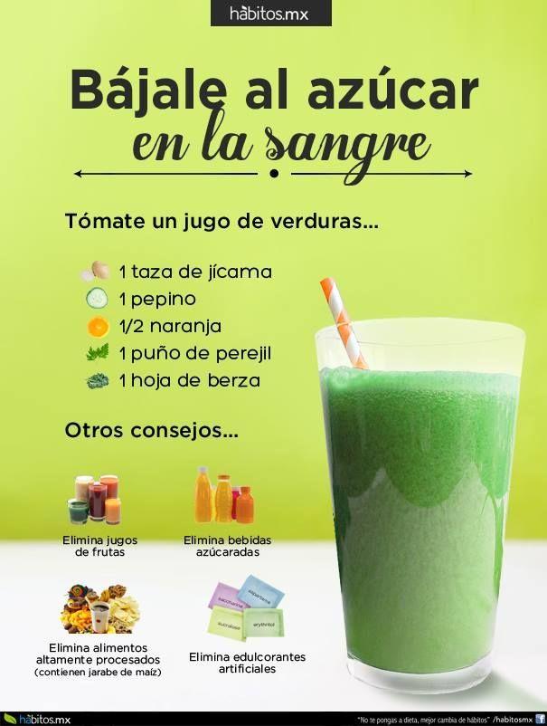 Hábitos Health Coaching | JUGO DE VERDURAS BÁJALE AL AZÚCAR EN LA SANGRE