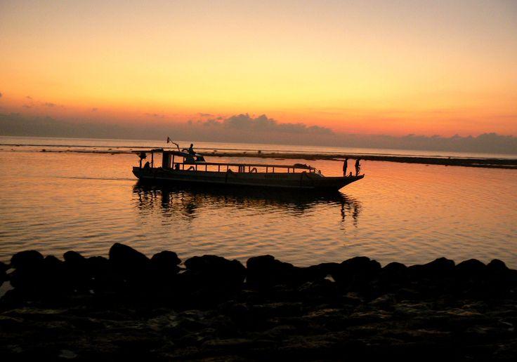 Sun Set, Nusa, Bali.