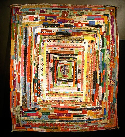 Quilt made by Afro-Siddi women from Gujarat
