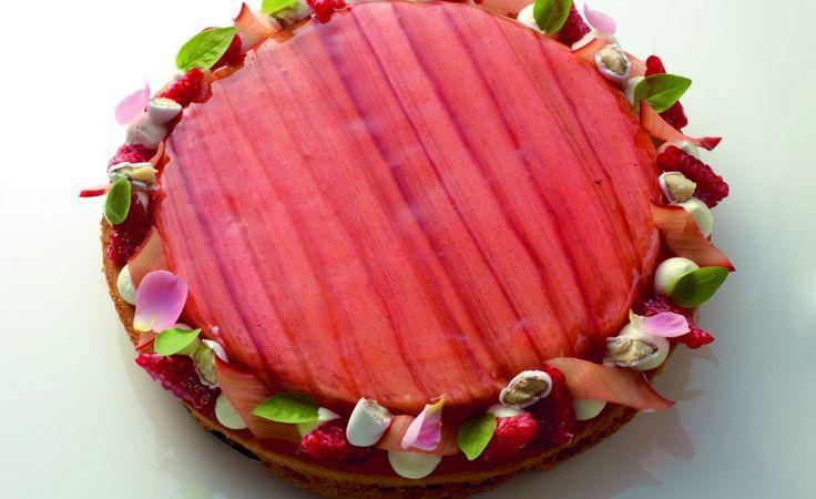 Fantastik rhubarbe vanille par Christophe Michalak