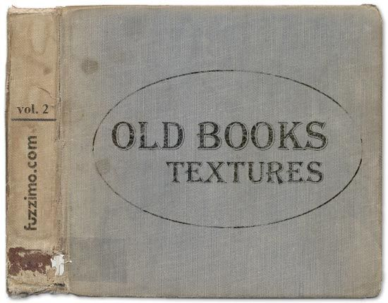 Worn Book Cover Texture ~ Curated vintage style free printables ideas by