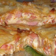 Egy finom Virslis-sajtos leveles tészta ebédre vagy vacsorára? Virslis-sajtos leveles tészta Receptek a Mindmegette.hu Recept gyűjteményében!