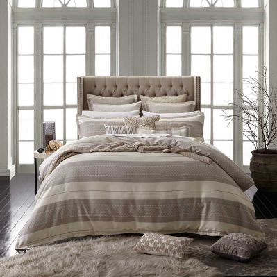 Aztec Linen Quilt Cover and Accessories by Private Collection | shopinside.com.au