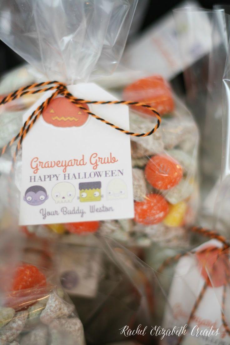 Graveyard Grub- Halloween Class Treats | Rachel Elizabeth Creates
