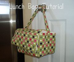 Lunch Bag Tutorial