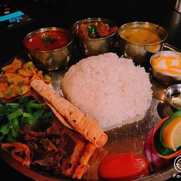 ネパール料理ー#shinokubo #curry #nisekoteam