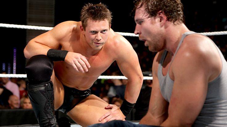 Image result for Dean Ambrose vs The Miz