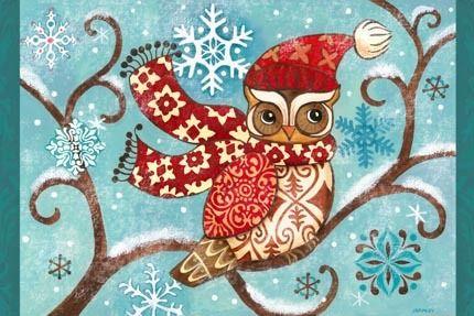 Winter Owl by Jennifer Brinley